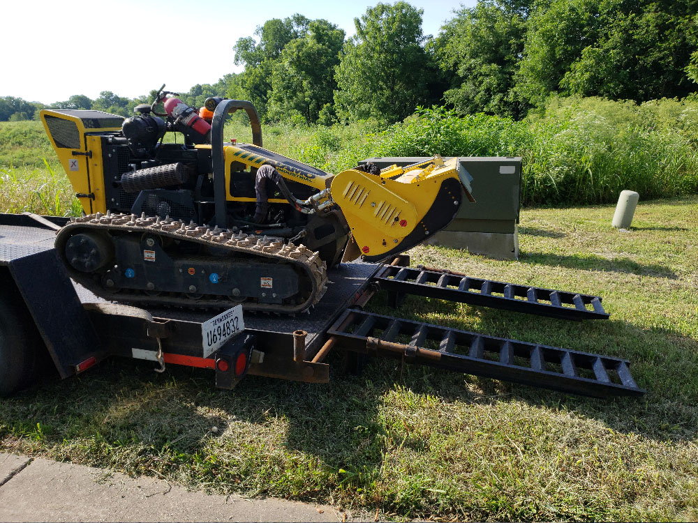 Slope Mowing Services for Steep Hills
