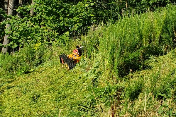 Stoney Creek Reservoir mower ridge runner